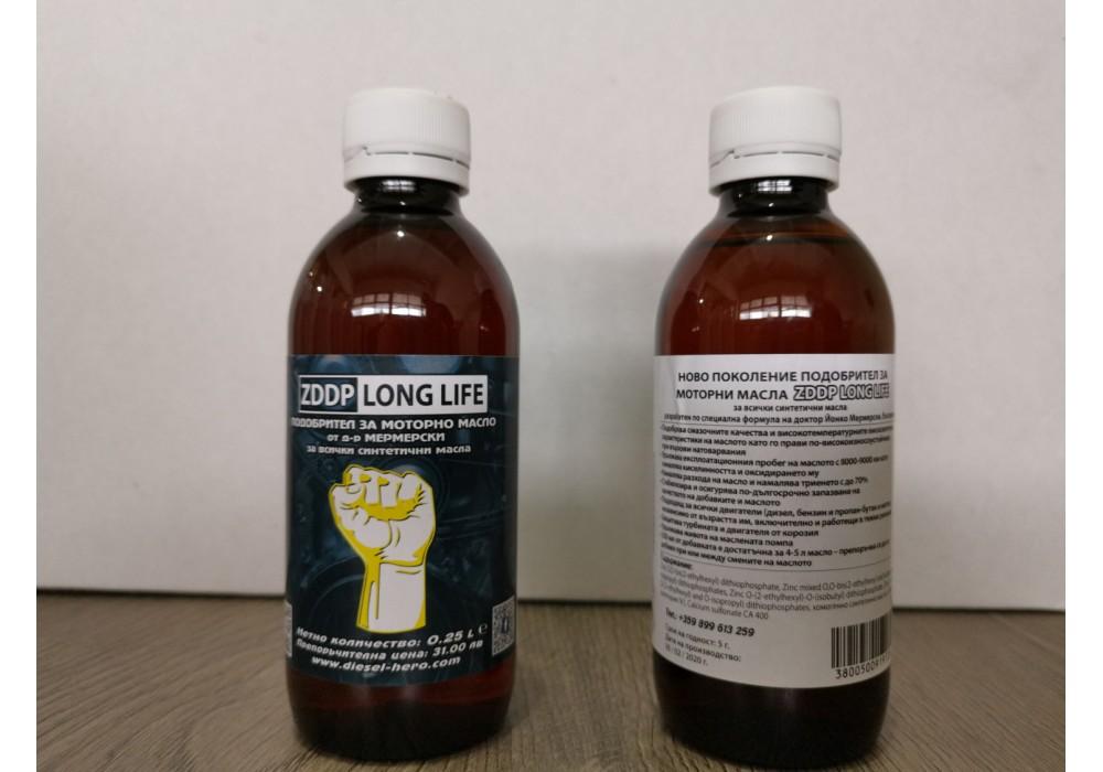ZDDP LONG LIFE – подобрител за синтетични моторни масла