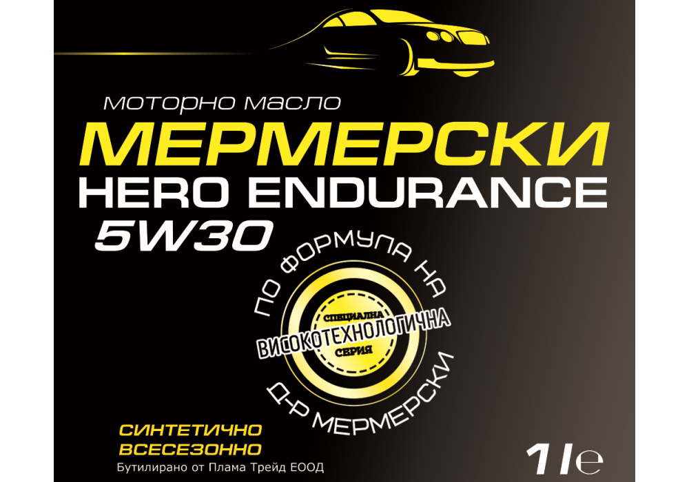 HERO ENDURANCE 5W30 Black Label – 1 l