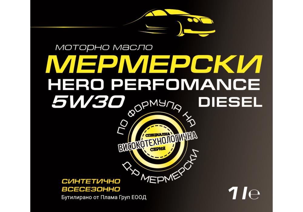 HERO PERFORMANCE 5W30 DIESEL Black Label – 1 l